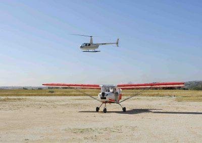 Actividades helicóptero y avión